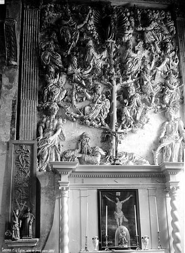Eglise Saint-Gervais-Saint-Protais Arbre de Jessé, Robert, Paul (photographe),