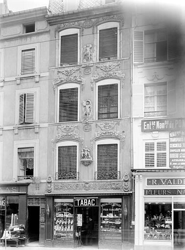 Maison des Adam Façade sur rue (ensemble), Durand, Jean-Eugène (photographe),