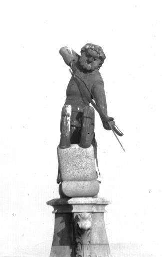 Cathédrale Notre-Dame Figure de couronnement, le Sagittaire, Lajoie, Abel,