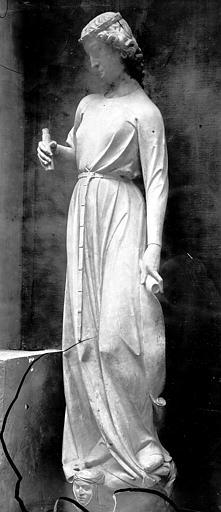 Cathédrale Notre-Dame Façade ouest, Enlart, Camille (historien), 75 ; Paris 16 ; Palais de Chaillot (Trocadéro) ; Musée de Sculpture comparée, musée des Monuments français