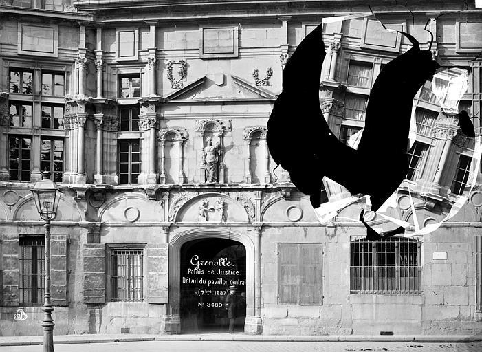 Palais de Justice Façade sur rue, Mieusement, Médéric (photographe),