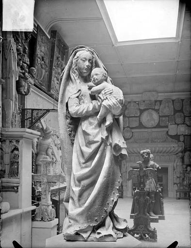Couvent des Célestins (ancien) , Heuzé, Henri (photographe), 84 ; Avignon ; Musée Calvet