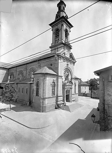 Eglise Ensemble nord-ouest, Queste, P. photographe),