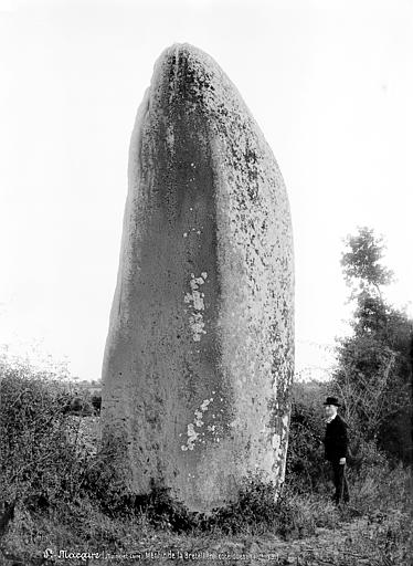 Menhir de la Grande Pierre Levée Ensemble ouest, Mieusement, Médéric (photographe),