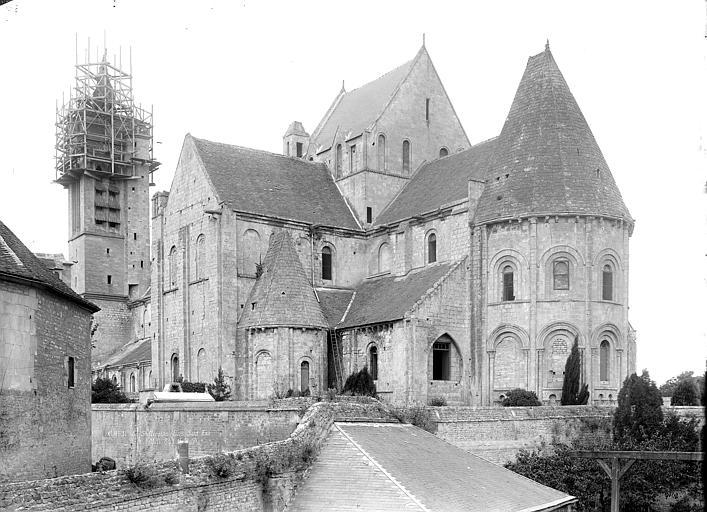 Eglise Saint-Nicolas (ancienne) Ensemble sud-est, Durand, Jean-Eugène (photographe),