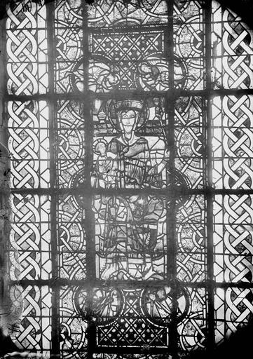 Cathédrale Saint-Maurice Vitrail, La Vierge et l'Enfant, Magne, Louis,