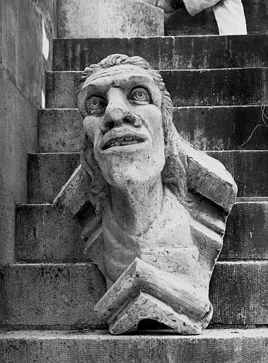 Cathédrale Notre-Dame Figure d'amortissement, Lajoie, Abel,