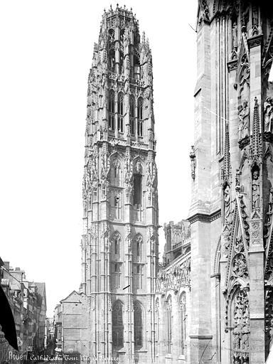 Cathédrale Notre-Dame Tour dite de Beurre, côté sud-est, Mieusement, Médéric (photographe),