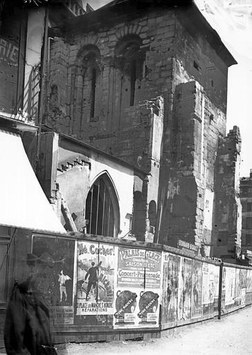 Eglise Saint-Martin-des-Champs Tour, Enlart, Camille (historien),
