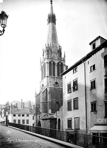 Eglise Saint-Paul Clocher, côté sud-ouest, Mieusement, Médéric (photographe),