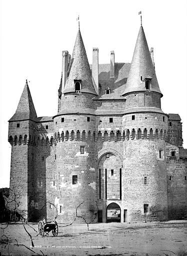 Château Châtelet, côté sud, Mieusement, Médéric (photographe),