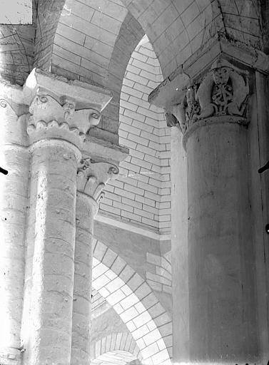 Eglise Saint-Hilaire-le-Grand Chapiteaux, Gossin (photographe),