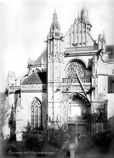 Abbaye de Marcheroux (ancienne) Eglise : Façade sud, Mieusement, Médéric (photographe),