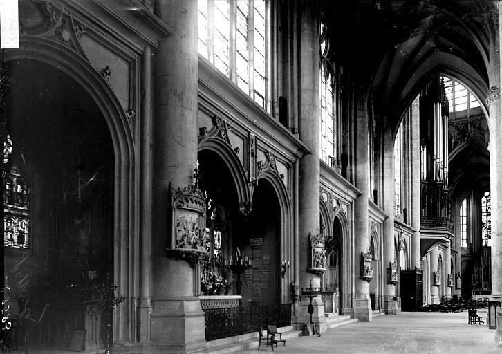 Basilique Saint-Nicolas Bas-côté, Enlart, Camille (historien),