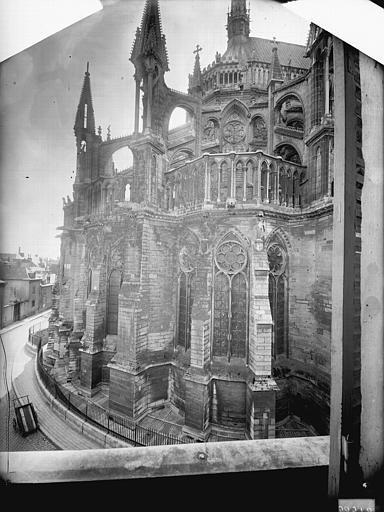 Cathédrale Notre-Dame Abside, à l'est, Lajoie, Abel,