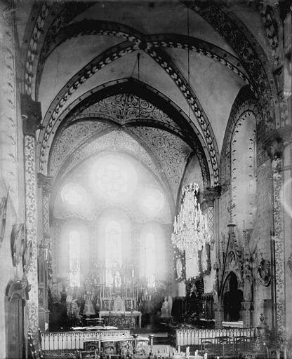 Eglise des Jacobins Choeur, Enlart, Camille (historien),