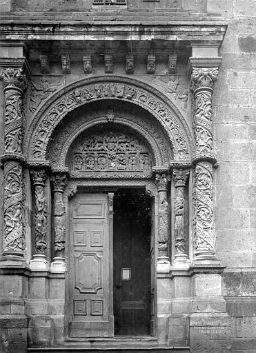 Eglise Portail, Durand, Jean-Eugène (photographe),