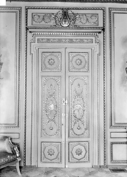 Palais de l' Elysée Porte, vue d'ensemble, Durand, Eugène (photographe),