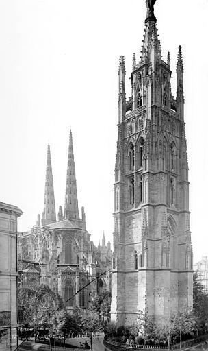 Cathédrale Saint-André Tour Pey-Berland, Mieusement, Médéric (photographe),