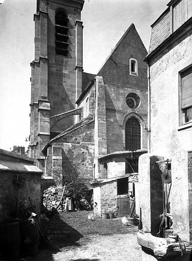 Eglise Abside et clocher, Durand, Eugène (photographe),