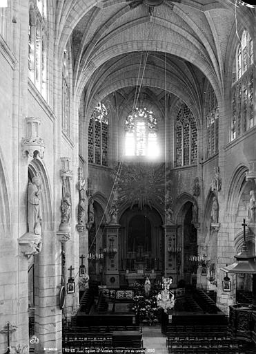 Eglise Saint-Nicolas Choeur, Robert, Paul (photographe),