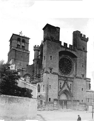 Cathédrale Saint-Nazaire Ensemble nord-ouest, Enlart, Camille (historien),