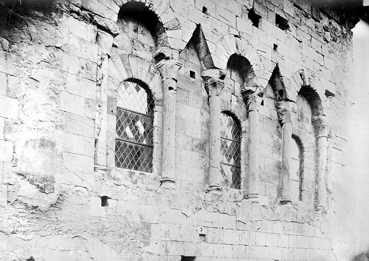 Eglise Saint-Etienne Transept nord : arcatures, Mieusement, Médéric (photographe),