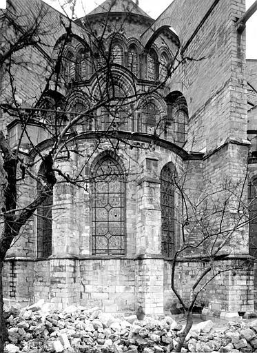 Eglise Saint-Remi Abside, Robert, Paul (photographe),
