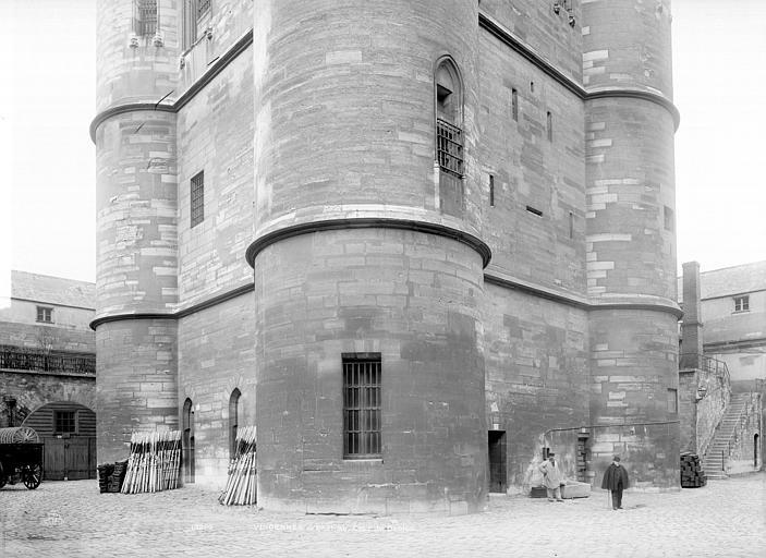 Château de Vincennes Donjon : Partie inférieure, Durand, Jean-Eugène (photographe),