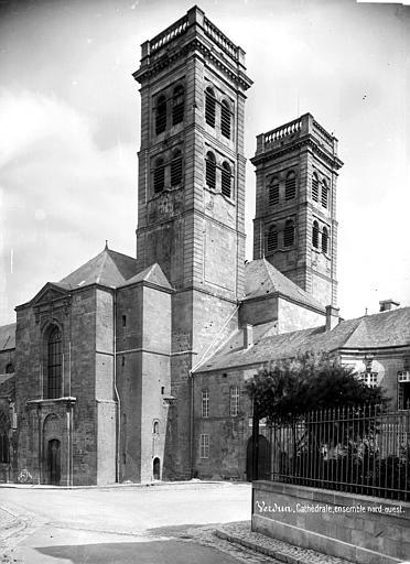 Cathédrale Notre-Dame-de-l'Assomption Angle nord-ouest, Mieusement, Médéric (photographe),