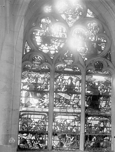 Eglise Saint-Nizier Vitraux, fenêtre G, Lancelot, Gustave,