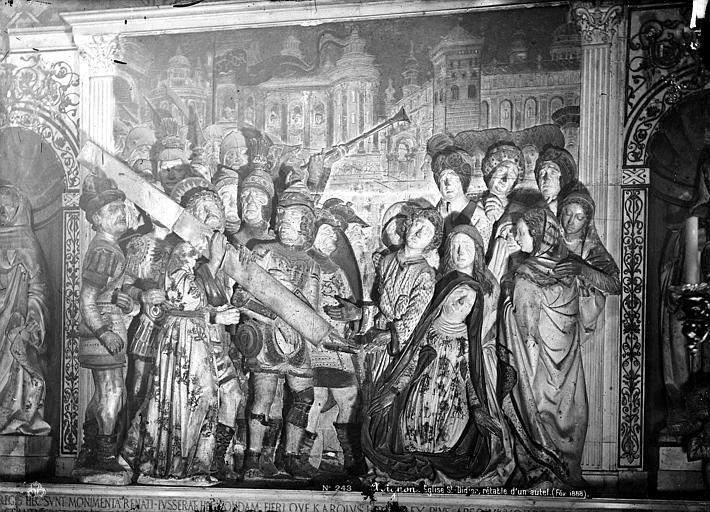 Eglise Saint-Didier Haut-relief d'un retable : Le Portement de Croix, Mieusement, Médéric (photographe),