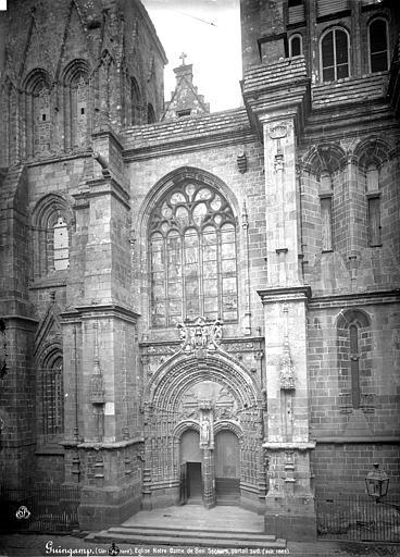 Eglise Notre-Dame-du-Bon-Secours Façade sud au niveau du portail, Mieusement, Médéric (photographe),