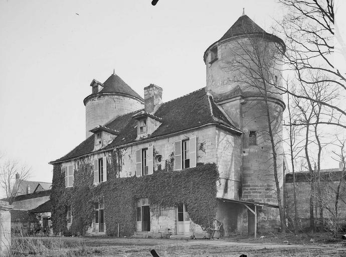 Abbaye du Moncel (ancienne) Tour de Fécamp, vers l'intérieur, Service photographique,