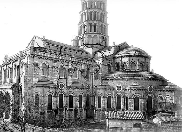 Eglise Saint-Sernin Ensemble est, Mieusement, Médéric (photographe),