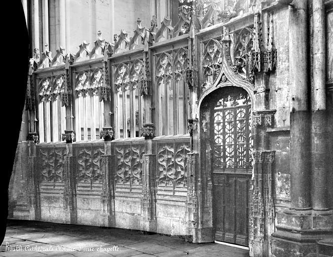 Cathédrale Notre-Dame Clôture d'une chapelle, Mieusement, Médéric (photographe),