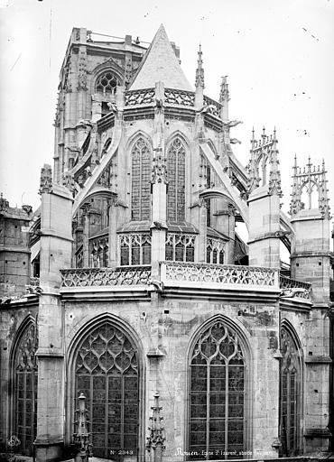 Eglise Saint-Laurent (ancienne) Chevet, Mieusement, Médéric (photographe),