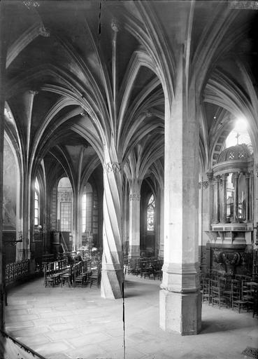 Eglise Saint-Séverin Déambulatoire, Durand, Eugène (photographe),