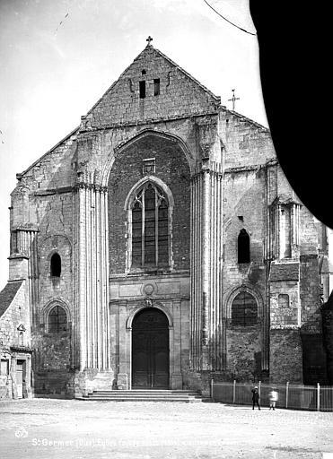 Eglise abbatiale Façade ouest, Mieusement, Médéric (photographe),