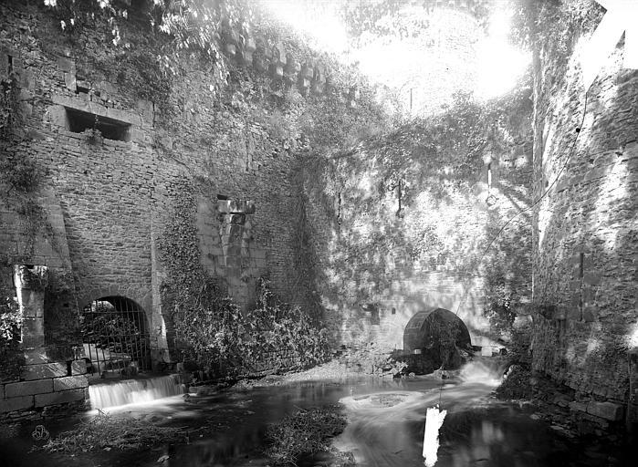 Château Remparts, entre le moulin et la porte Saint-Sulpice, Durand, Jean-Eugène (photographe),