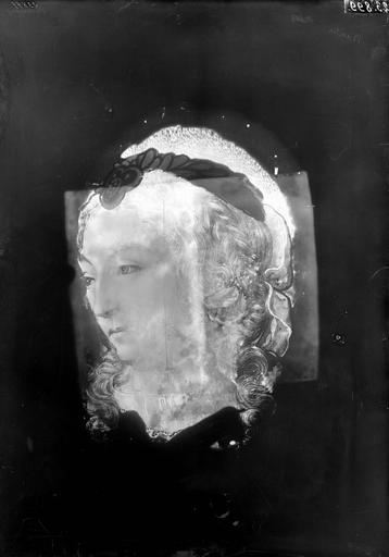 Panneau de vitrail, Durand, Eugène (photographe), 44 ; Nantes ; Musée