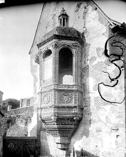 Château Chaire extérieure, Neurdein Frères (photographes),