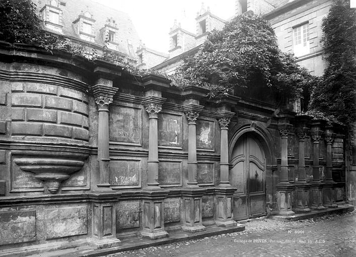 Collège des Doctrinaires (ancien) Entrée, Durand, Eugène (photographe),