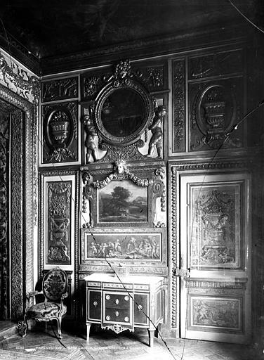 Hôtel de Lauzun ou Hôtel de Pimodan Chambre à coucher, panneau, Mieusement, Médéric (photographe),