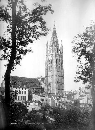 Eglise Saint-Eutrope Ensemble nord : Clocher, côté nord-est, Mieusement, Médéric (photographe),