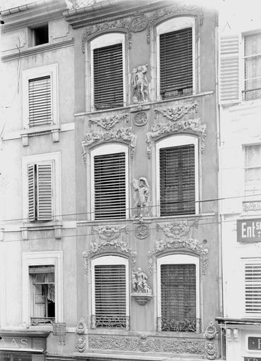 Maison Façade, Durand, Eugène (photographe),