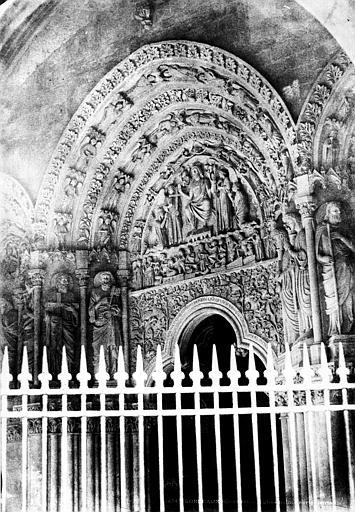 Eglise Saint-Sevrin Portail sud, Le Gray, Gustave ; Mestral, Auguste (photographe),