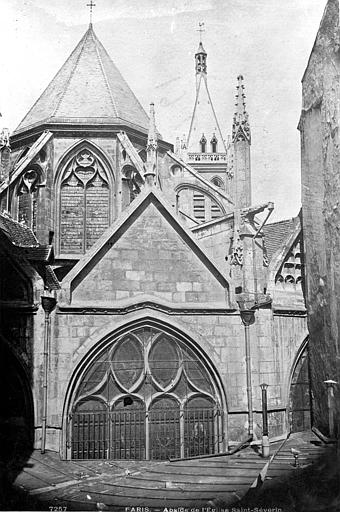 Eglise Saint-Séverin , Durand, Eugène (photographe),