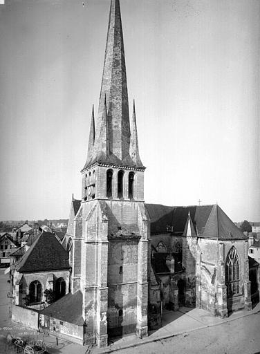 Eglise Saint-Rémy Clocher, Durand, Eugène (photographe),