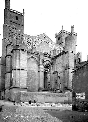 Cathédrale Saint-Just (ancienne) Façade ouest, Mieusement, Médéric (photographe),